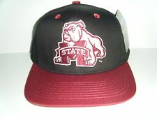 Mississippi State Bulldogs Authentic Logo Snapback NWT Hat Authenic Cap
