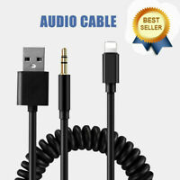 Audio Cable AUX Adapter Lead Cable For BMW iPod iPhone 5 6 7 8 X XS Interface ES