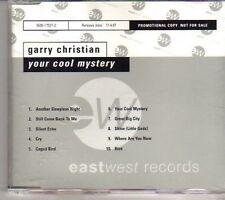 (CR737) Garry Christian, Your Cool Mystery - 1996 DJ CD
