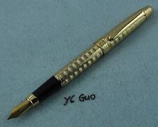 Wing Sung Lucky 2002 Fountain Pen Fine Nib Special Scratch On Hood