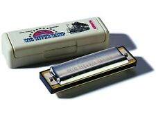 HOHNER BIG RIVER HARP 590 KEY OF F DIATONIC 10-HOLE MODULAR SYSTEM HARMONICA