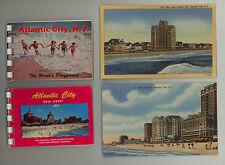 Atlantic City * lot of linen postcards & souvenir booklets * New Jersey