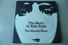 "MOODY BLUES""THE STORY IN YOUR EYES-disco 45 giri THRESHOLD Italy 1971"""