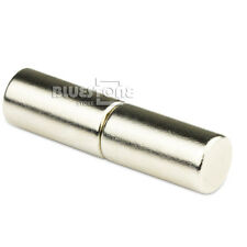 2pcs Strong Round Long Bar Cylinder Magnets 10 * 20 mm Neodymium Rare Earth N50