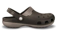 Crocs Duet clog crocs shoes espresso mushroom brown Size 11 men nurse diabetic