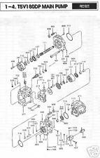 KAWASAKI K3V 180DT Hydrostatic /Hydraulic Pistons 9 PCS