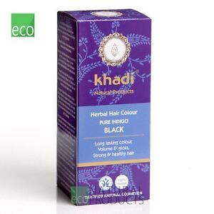 Khadi Herbal Natural Hair Colour Pure Indigo 100g