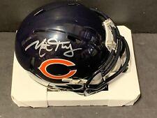 Mitch Trubisky Chicago Bears Autographed Signed Mini Helmet Fanatics Hologram