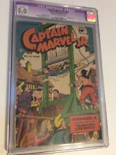 Captain Marvel Jr #83 CGC 5.0R 1950 Fawcett Bondage Cover Rare