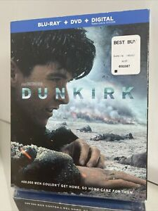 Dunkirk (Blu-ray+DVD+Digital) Brand New in the Factory Sealed Case w/Slipcover!