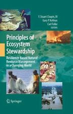 Principles of Ecosystem Stewardship: Resilience-Based Natural Resource Manage...