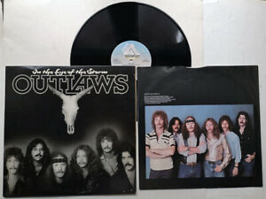 OUTLAWS In The Eye Of The Storm DISCO LP AL 9507 ARISTA