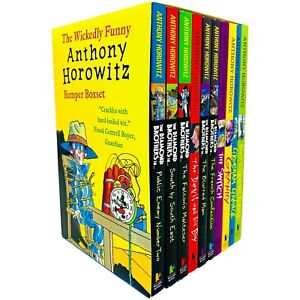 Wickedly Funny 10 Books Children Collection Paperback Set By Anthony Horowitz