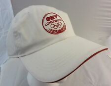 CTV London 2012 Olympics cap hat  adjustable  white second skin
