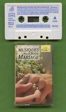 K7 Audio - Musiques pour notre mariage - Volume 1
