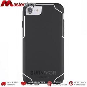 Griffin Survivor Journey Case for iPhone SE 2020, iPhone 8 / 7 / 6 & 6S - Black