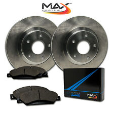 1992 1993 1994 1995 Chevy Cavalier OE Replacement Rotors w/Metallic Pads F