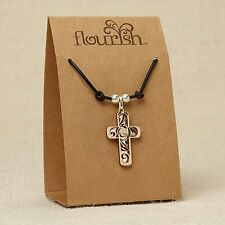 Cross Necklace ~ Flourish Jewelry Collection by Lauren Picciuna ~ 4044635