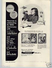 1965 PAPER AD Horsman Dolls Walt Disney Mary Poppins Patty Duke Doll