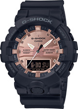 -NEW- CASIO G-SHOCK GA800MMC-1A ROSE GOLD ANA-DIGI BLACK RESIN BAND MENS WATCH!!