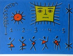 "KEN KENAN Original Serigraph ""The Return of 5"" Hand Signed Numbered USA Artist"