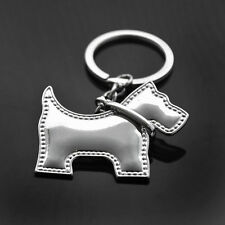 3D Stainless Steel Dog Keychain Keyring Charm KC0347