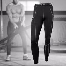 New Men's Sports Gym Wear Under Base Layer Athletic Pants Tights Bodybuilding