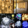 100 LED 10M Christmas Tree Fairy String Party Twinkle Lights Lamp with Tail Plug
