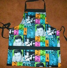 COOKING APRONS **ELVIS** FULLY LINED, THREE LARGE POCKETS WASHABLE
