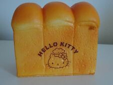 Hello Kitty Bread Loaf Kawaii Squishy *Brown Print* Ships From The USA!
