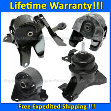 K1913 Engine Motor Mount/&Trans Mount Set 4pcs For 2007-2012 Kia Rondo 2.4L