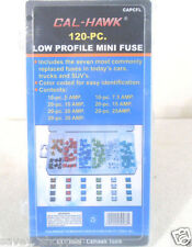 Cal Hawk 120pc Low Profile Mini Auto Fuses