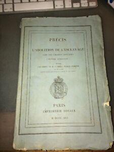 ESCLAVAGE. ABOLITION DANS LES COLONIES ANGLAISES. (Deuxième Publication). 1841.
