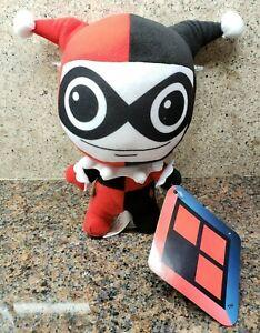 NEW Harley Quinn Plush Jester Suicide Squad Toy Doll Figure DC Comics Joker