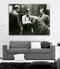 Poster Mural Movie The Godfather Al Pacino 40x52 in (100x132 cm) Adhesive Vinyl