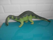 17.6.25.3 grand Figurine animaux dinosaure APATOSAURUS 1988 SAFARI 42*13cm