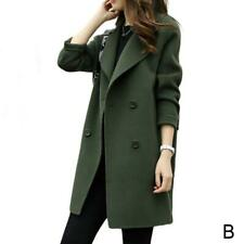 Womens Autumn Winter Jacket Coat Casual Outwear Parka Cardigan Trench Overcoat