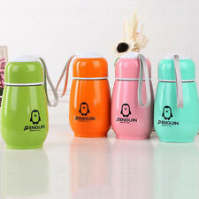 Lovely Stainless Steel Penguin Vacuum Cup Bottle Flask Cup Mug Kids cute gift