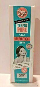 Soap & Glory The Fab Pore 3-in-1 Oil Control Serum 1oz 6037