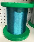 "Genuine Gudebrod ICE BLUE Metallic 9037 Rod Winding Thread Size D 7"" Bulk Spool"