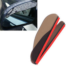 2pc Flexible PVC Car Rear View Side Mirror Rain Board Sun Visor Shade Shield New
