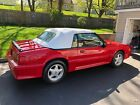 1991 Ford Mustang GT 1991 Ford Mustang Convertible Red RWD Manual GT