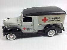 Ertl Prestige Series 1947 Dodge Die Cast Red Cross EUC