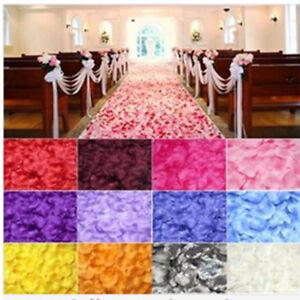 100X Rose Petals Romantic Marriage Proposal Wedding Party Use Venue Decor #EE2