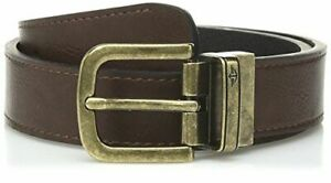 Dockers Boys' Reversible Dress and Casual Belts, Brown/Black BrasSmall