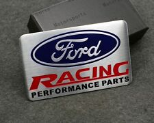 Ford Racing Aluminium Car Trunk Emblem Car styling Accessories Badge for Ford RS