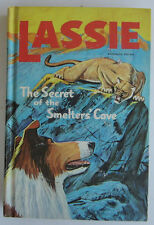 LASSIE Secret of the Smelters Cave Vintage Whitman Hardcover Collie