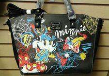 [Wdtb0896] Loungefly Disney Minnie Mouse Black Purse