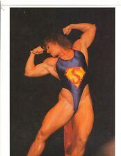 bodybuilder NICOLE BASS Female Bodybuilding Bodybuilder Muscle Color Photo