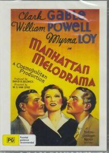 Manhattan Melodrama DVD 1934 Clark Gable New and Sealed Australian Release